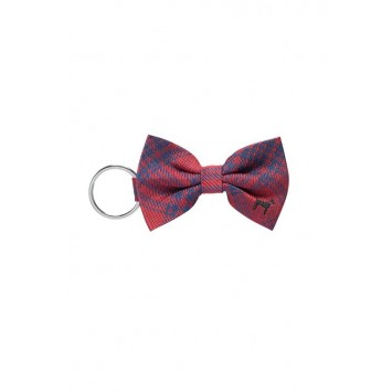 Red Lab Bowtie Keychain